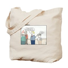 Social Networking Tote Bag