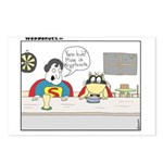 Super Cat Postcards (Package of 8)