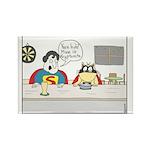 Super Cat Rectangle Magnet (10 pack)
