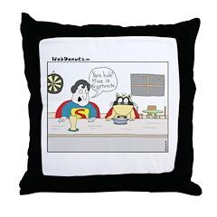 Super Cat Throw Pillow