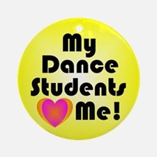 Dance Teacher Christmas Ornament