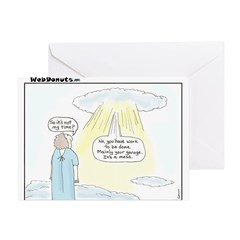 The Message Greeting Card