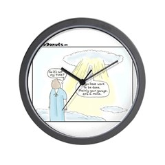The Message Wall Clock