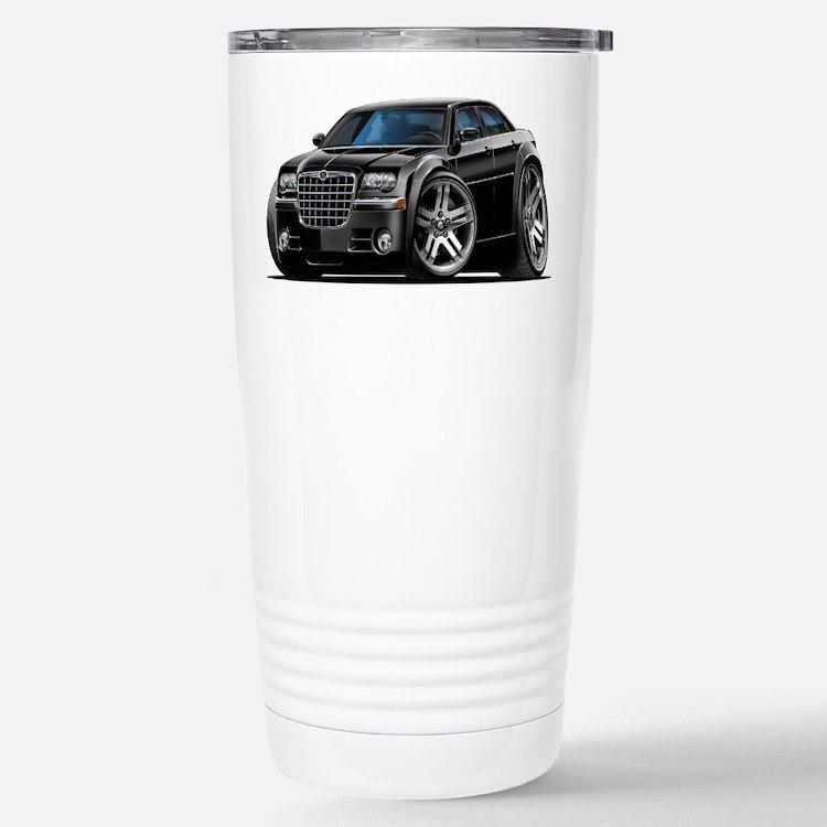 Chrysler 300 Black Car Travel Mug