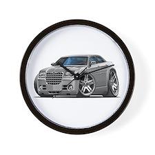 Chrysler 300 Silver Car Wall Clock
