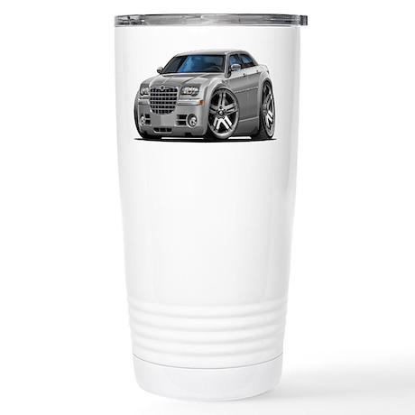 Chrysler 300 Silver Car Stainless Steel Travel Mug