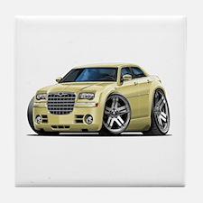 Chrysler 300 Tan Car Tile Coaster