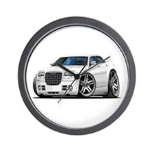 Chrysler 300 White Car Wall Clock
