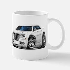 Chrysler 300 White Car Mug