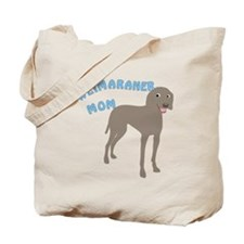 Weimaraner Mom Tote Bag