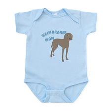 Weimaraner Mom Infant Bodysuit