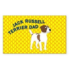 Terrier Dad Decal