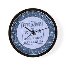 Grade A 100% Prima Ballerina Wall Clock