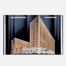 1930's Art Deco Curtis Hotel Postcards (Package of