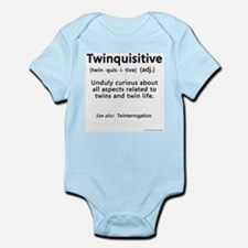 Twin Definitions - Twinquisitive Infant Creeper