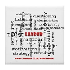 Unique Confederate leadership Tile Coaster