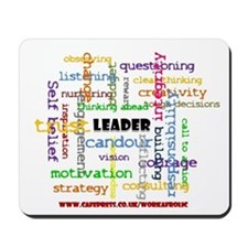 Leadership Traits Mousepad