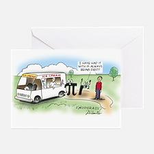 Ice Cream Pi Greeting Cards (Pk of 10)