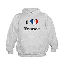 I Love France Hoody