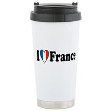 I Love France Travel Mug