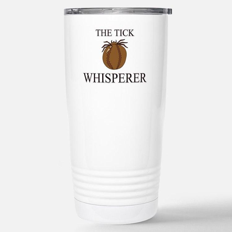Cute The cat whisperer Travel Mug