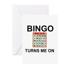 BINGO !!! Greeting Cards (Pk of 10)