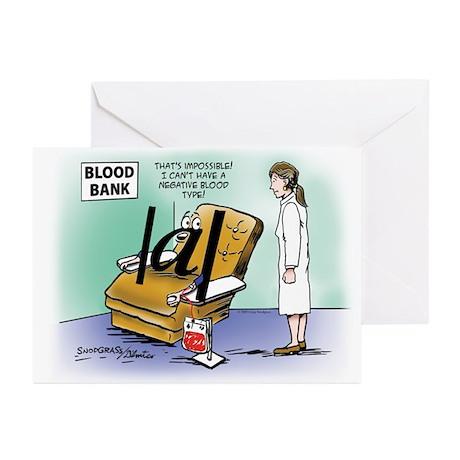 Blood Bank Greeting Cards (Pk of 10)