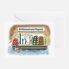 All Organic Greeting Card
