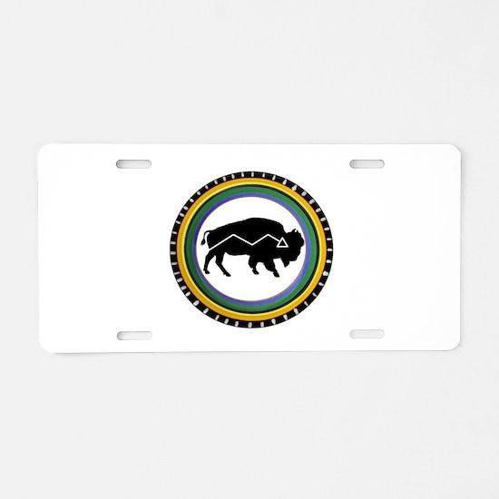 BISON Aluminum License Plate