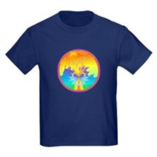 Sunset Healing OM Mandala T