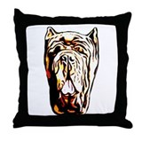 Mastiff pillows Throw Pillows