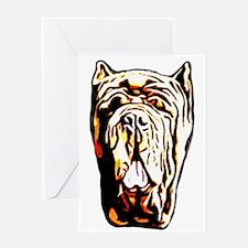 Neapolitan Mastiff Greeting Card
