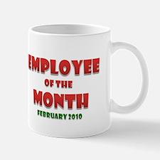 Employee of the Month February Mug