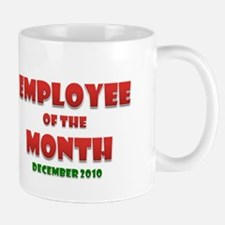 Employee of the Month December Mug