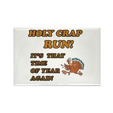 Cute Thanksgiving Rectangle Magnet (10 pack)