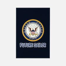 U.S. Navy Future Sailor Rectangle Magnet