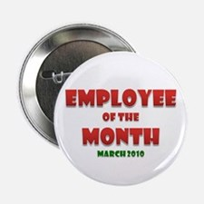 """Employee of the Month March 2.25"""" Badge"""