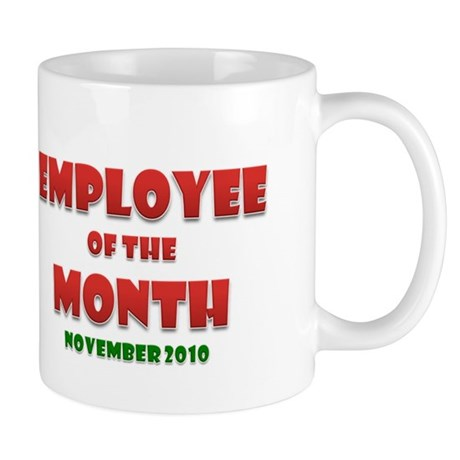 Employee of the Month Nov Mug