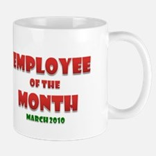 Employee of the Month March Mug
