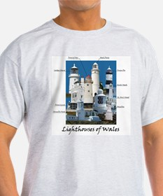 Lighthouses Of Wales T-Shirt
