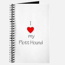 I Love My Plott Hound Journal