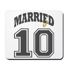 MARRIED 2010 Mousepad