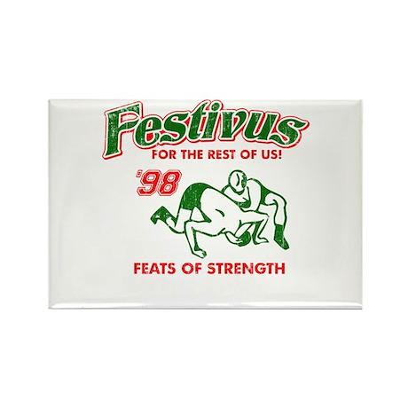 Seinfeld Festivus Humor Rectangle Magnet (10 pack)