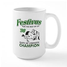 Castanza Festivus Seinfeld Mug