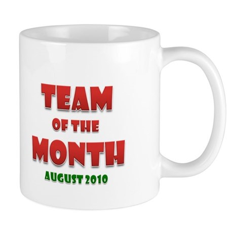 Team Of The Month August Mug