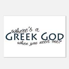 Where's a Greek God... Postcards (Package of 8)