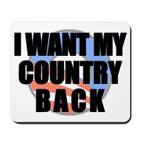 """""""Country Back"""" Mousepad"""
