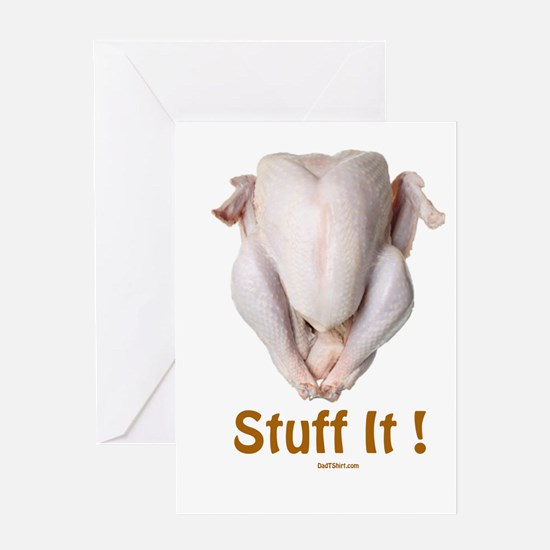 Stuff It Funny Thanksgiving Greeting Card