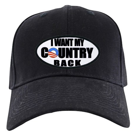 """""""Country Back"""" Black Cap"""