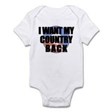 """Country Back"" Infant Bodysuit"